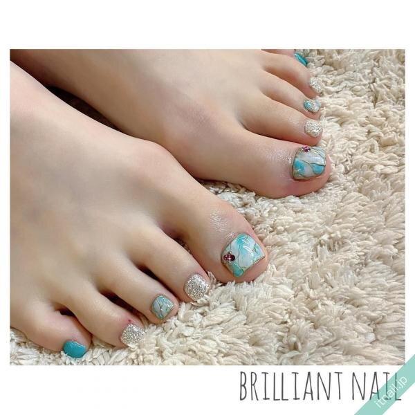 Brilliant Nailが投稿したネイルデザイン [photoid:I0094459] via Itnail Design (643856)