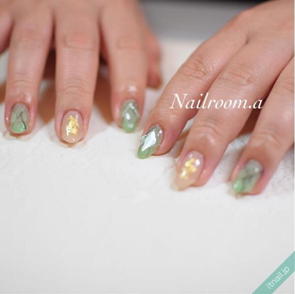 Nailroom彩が投稿したネイルデザイン [photoid:I0096006] via Itnail Design (644103)