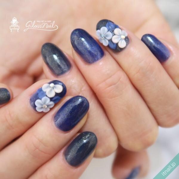 gloss nailが投稿したネイルデザイン [photoid:I0096366] via Itnail Design (644368)