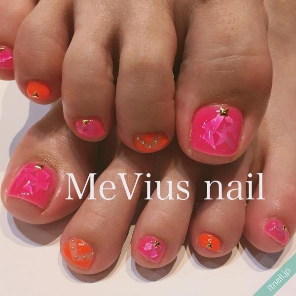 MeVius nailが投稿したネイルデザイン [photoid:I0028872] via Itnail Design (644286)