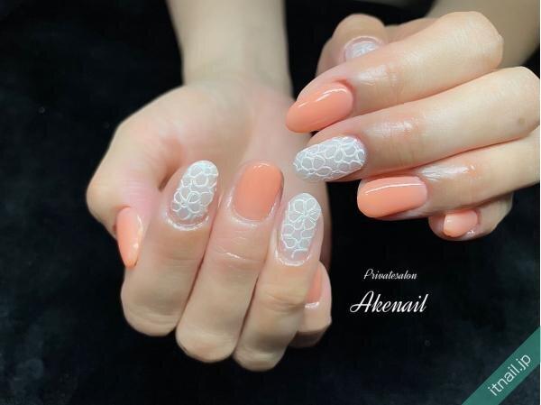 Private salon Ake nailが投稿したネイルデザイン [photoid:I0095774] via Itnail Design (644611)