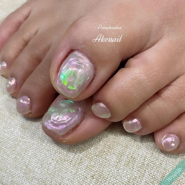 Private salon Ake nailが投稿したネイルデザイン [photoid:I0095785] via Itnail Design (644266)