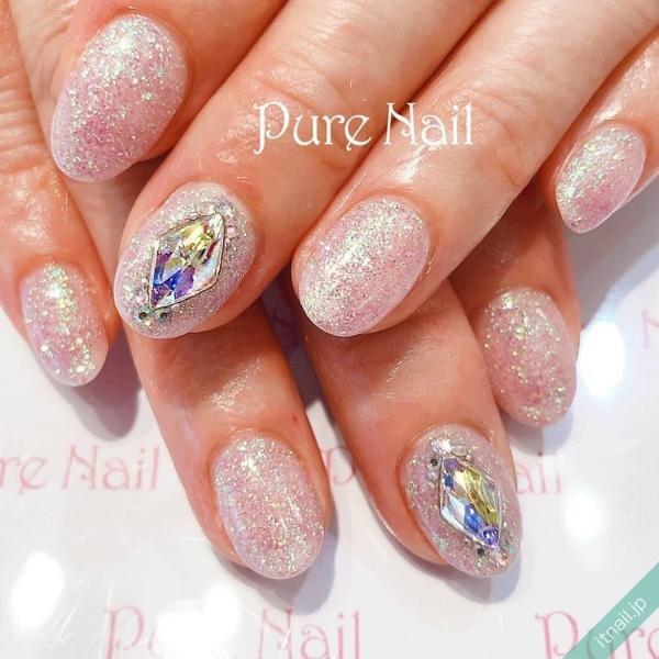 Pure Nailが投稿したネイルデザイン [photoid:I0085261] via Itnail Design (644077)