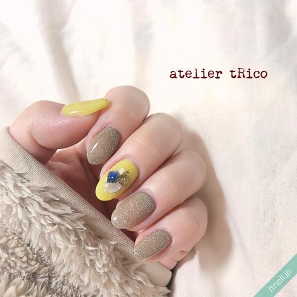atelier tRicoが投稿したネイルデザイン [photoid:I0096525] via Itnail Design (644487)