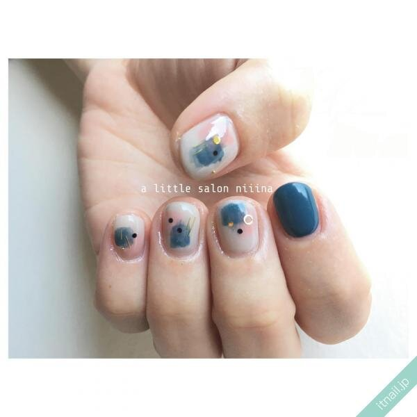 a little salon niiinaが投稿したネイルデザイン [photoid:I0094303] via Itnail Design (643355)