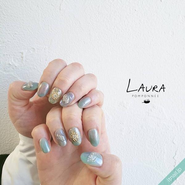 LAURA POMPONNEEが投稿したネイルデザイン [photoid:I0095301] via Itnail Design (643354)