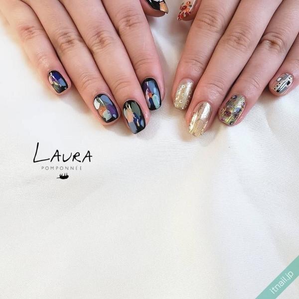 LAURA POMPONNEEが投稿したネイルデザイン [photoid:I0090183] via Itnail Design (644830)