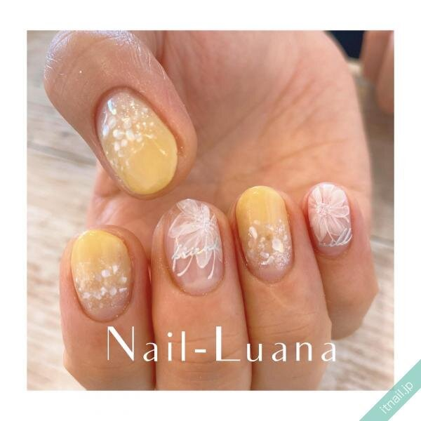 Nail-Luanaが投稿したネイルデザイン [photoid:I0096600] via Itnail Design (644580)