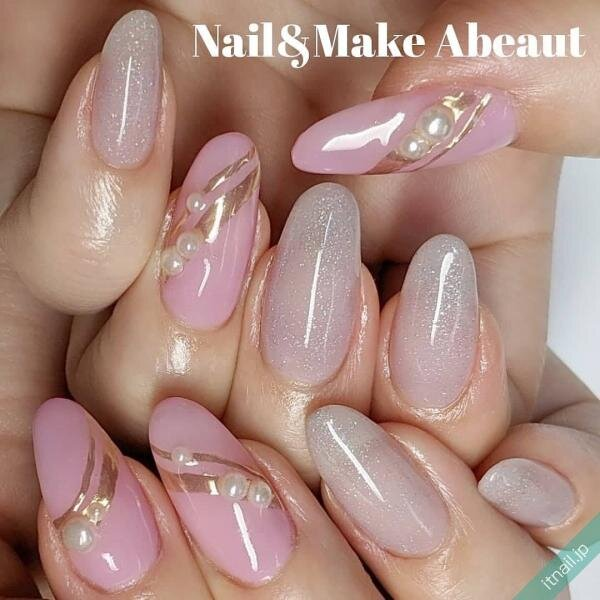 Nail&Make Abeautが投稿したネイルデザイン [photoid:I0092713] via Itnail Design (644937)