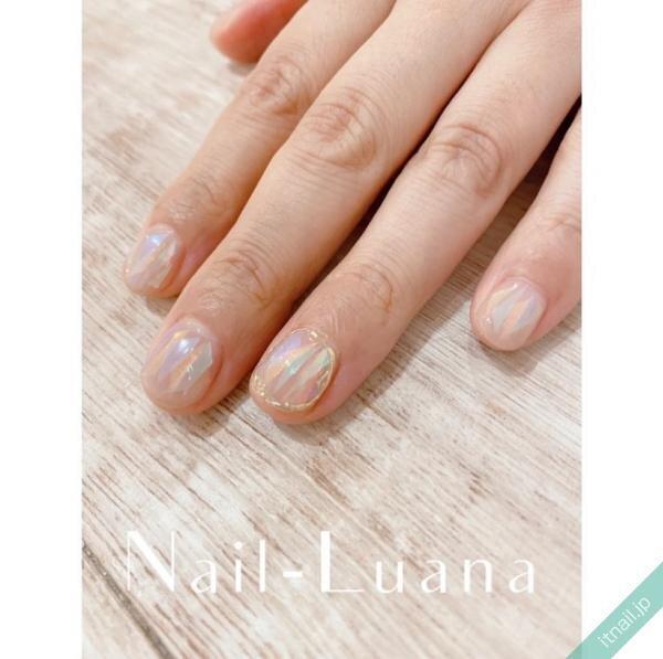 Nail-Luanaが投稿したネイルデザイン [photoid:I0096624] via Itnail Design (644582)