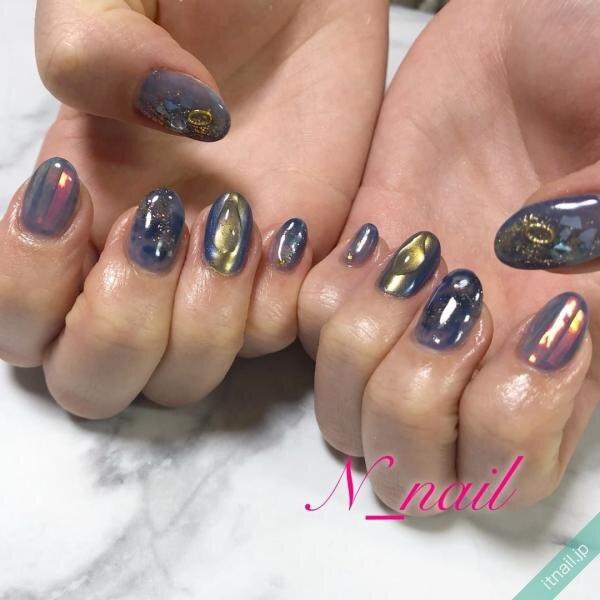 N_nailが投稿したネイルデザイン [photoid:I0094737] via Itnail Design (644959)