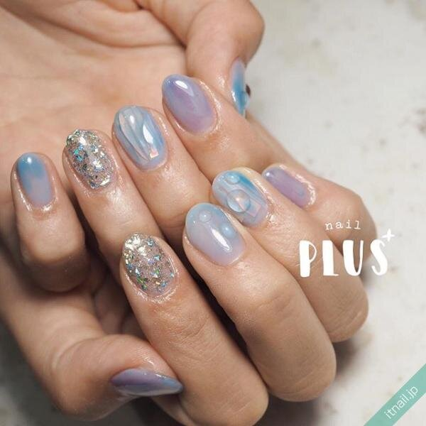 nail PLUS+が投稿したネイルデザイン [photoid:I0068219] via Itnail Design (645151)