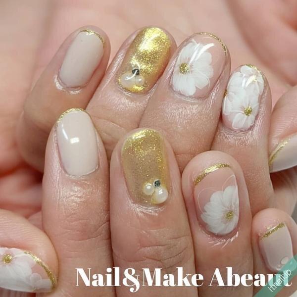 Nail&Make Abeautが投稿したネイルデザイン [photoid:I0092706] via Itnail Design (645496)