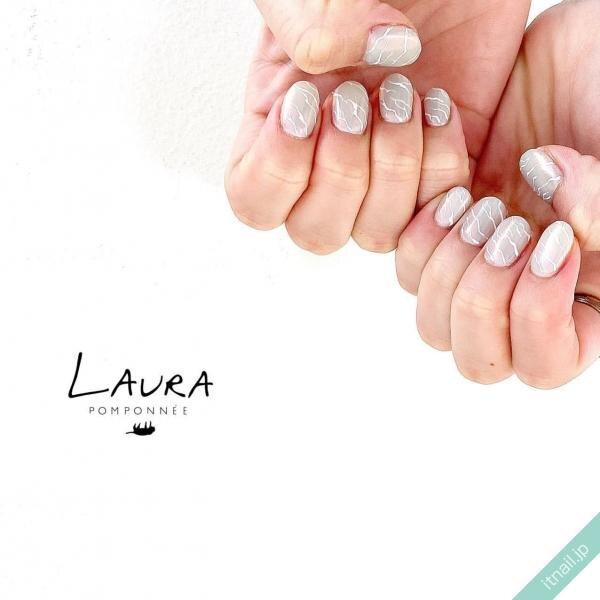 LAURA POMPONNEEが投稿したネイルデザイン [photoid:I0086076] via Itnail Design (645583)