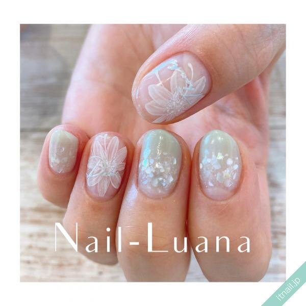 Nail-Luanaが投稿したネイルデザイン [photoid:I0096601] via Itnail Design (645774)