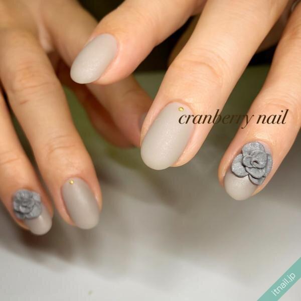 cranberry nailが投稿したネイルデザイン [photoid:I0092391] via Itnail Design (646082)