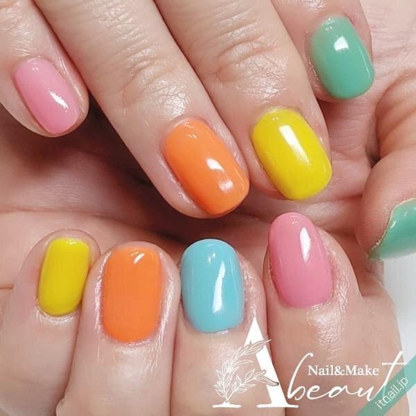 Nail&Make Abeautが投稿したネイルデザイン [photoid:I0096015] via Itnail Design (643397)