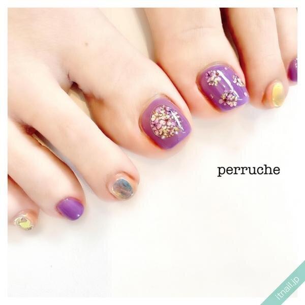 perrucheが投稿したネイルデザイン [photoid:I0096661] via Itnail Design (646301)