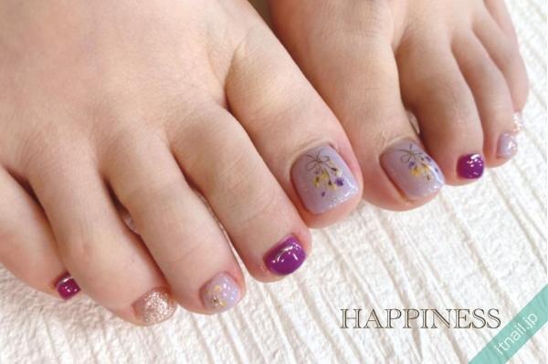 HAPPINESSが投稿したネイルデザイン [photoid:I0096688] via Itnail Design (646302)