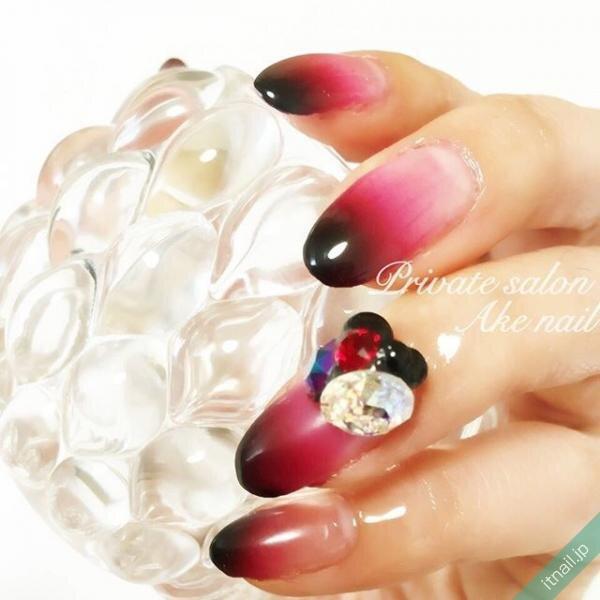 Private salon Ake nailが投稿したネイルデザイン [photoid:I0006866] via Itnail Design (646430)