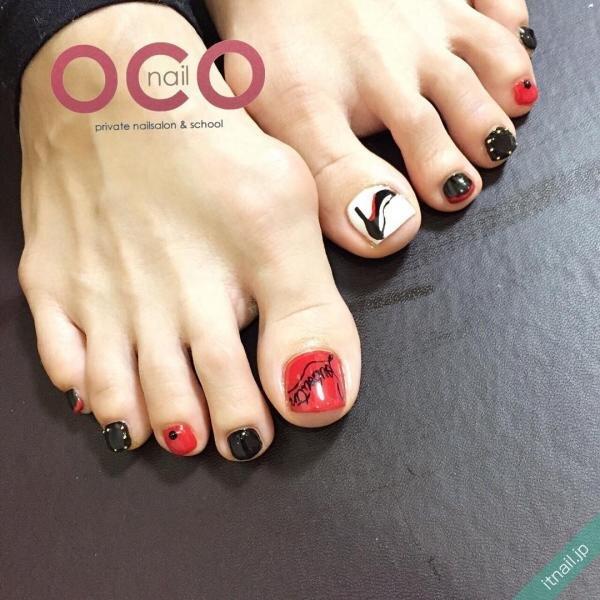 OCO nailが投稿したネイルデザイン [photoid:I0008855] via Itnail Design (646431)