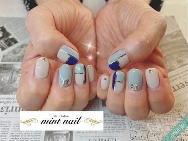 mint nailが投稿したネイルデザイン [photoid:I0097904] via Itnail Design (646732)