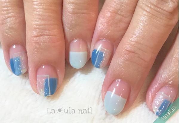La☀ula nailが投稿したネイルデザイン [photoid:I0060912] via Itnail Design (646747)