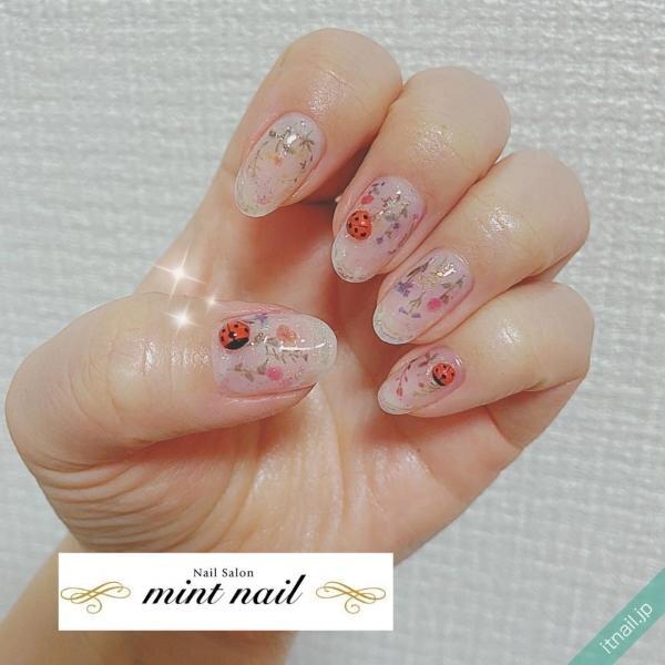 mint nailが投稿したネイルデザイン [photoid:I0081738] via Itnail Design (646446)