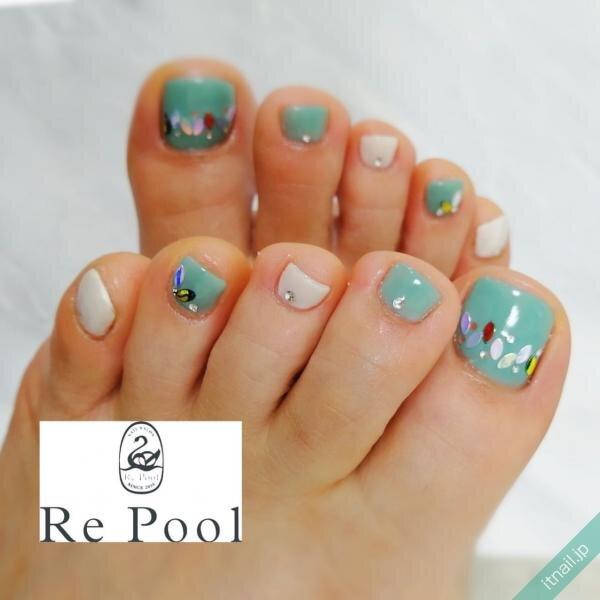 Re Poolが投稿したネイルデザイン [photoid:I0097309] via Itnail Design (646815)