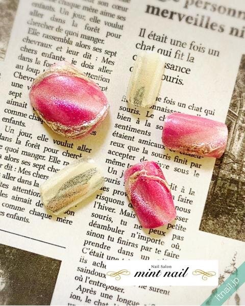 mint nailが投稿したネイルデザイン [photoid:I0097911] via Itnail Design (647158)