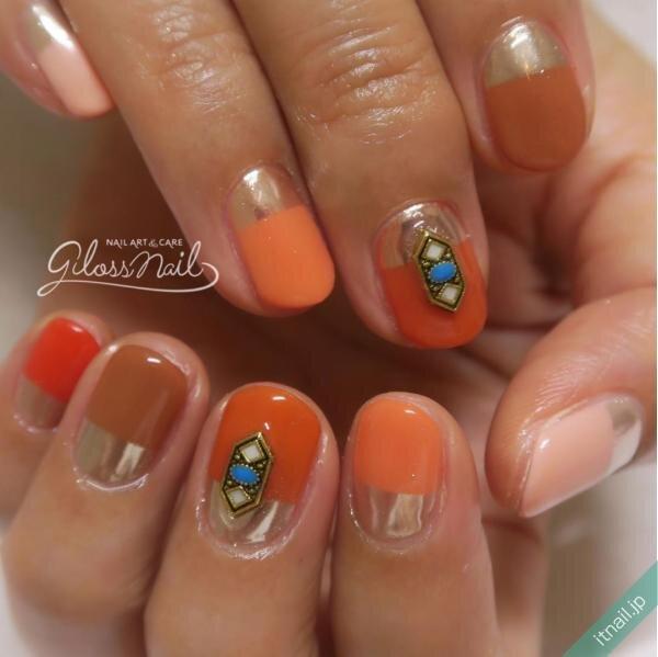gloss nailが投稿したネイルデザイン [photoid:I0069335] via Itnail Design (646945)