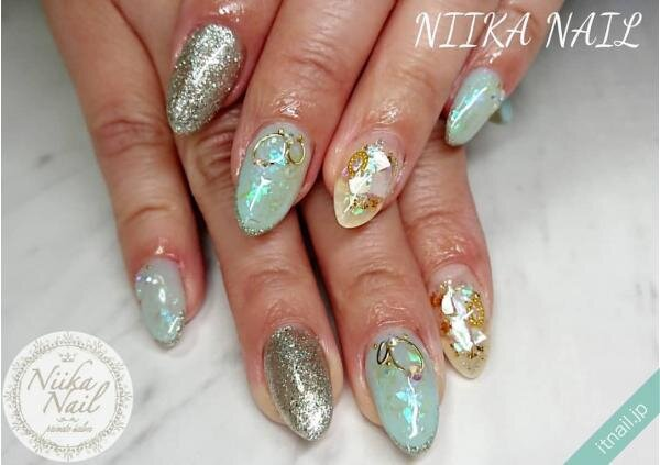 Niika Nailが投稿したネイルデザイン [photoid:I0098222] via Itnail Design (647638)