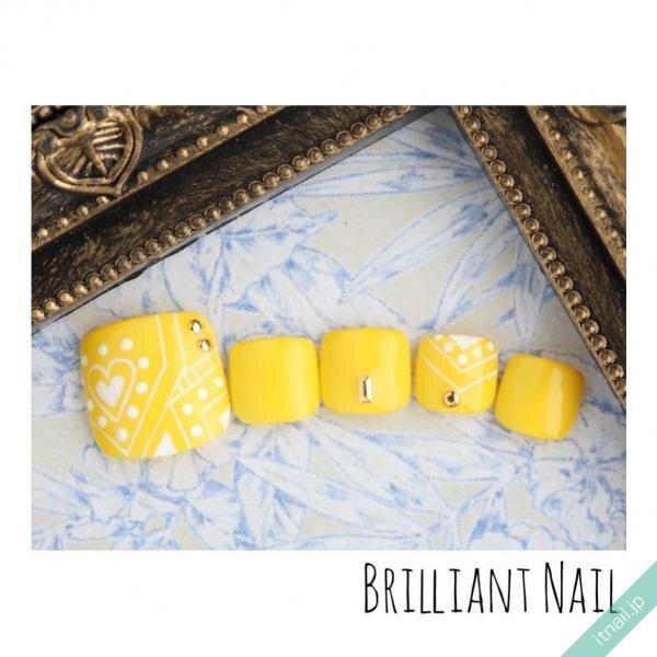 Brilliant Nailが投稿したネイルデザイン [photoid:I0089200] via Itnail Design (647102)
