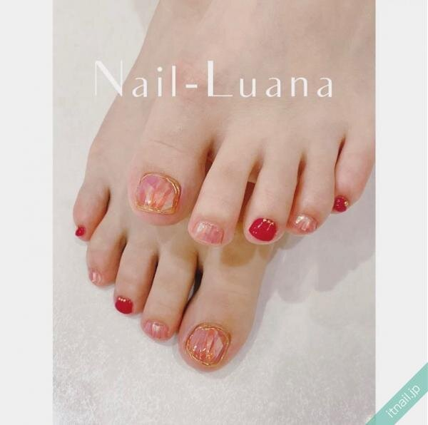 Nail-Luanaが投稿したネイルデザイン [photoid:I0096618] via Itnail Design (648003)