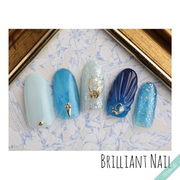 Brilliant Nailが投稿したネイルデザイン [photoid:I0089178] via Itnail Design (647783)