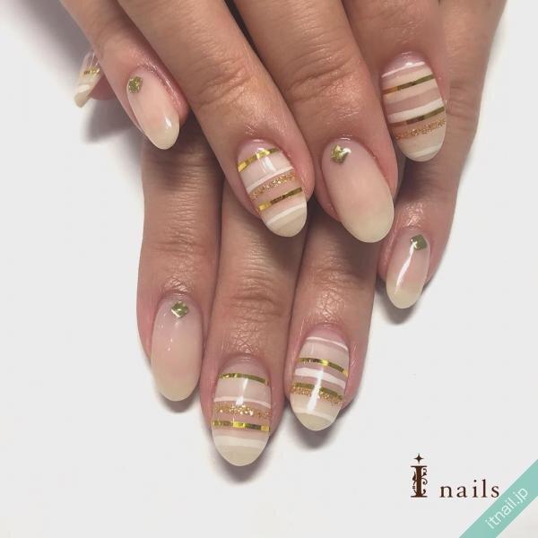 I nailsが投稿したネイルデザイン [photoid:I0028656] via Itnail Design (648200)