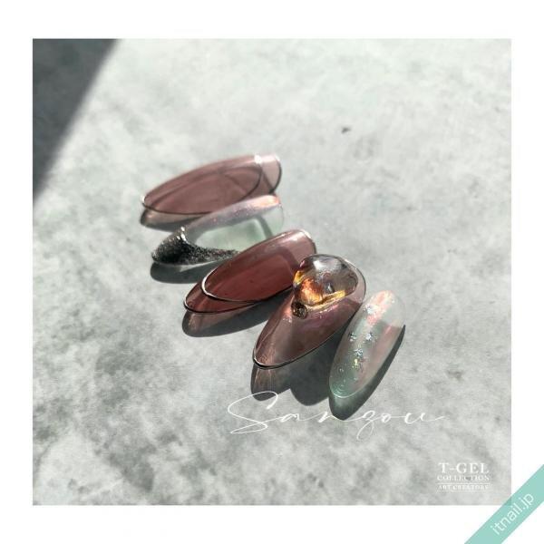 ねいる屋〜SANZOU〜が投稿したネイルデザイン [photoid:I0096249] via Itnail Design (647204)