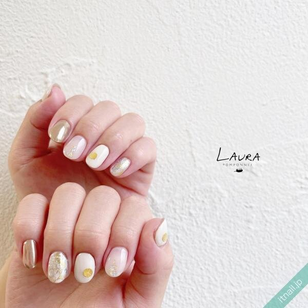 LAURA POMPONNEEが投稿したネイルデザイン [photoid:I0098558] via Itnail Design (648508)