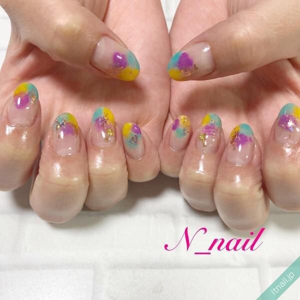N_nailが投稿したネイルデザイン [photoid:I0094774] via Itnail Design (648172)