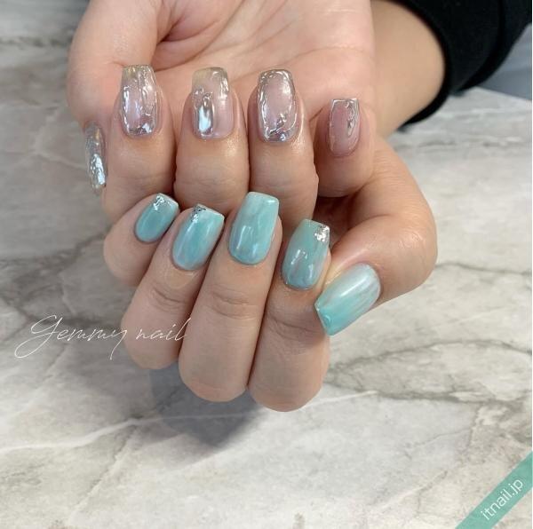 Gemmy nailが投稿したネイルデザイン [photoid:I0098287] via Itnail Design (648350)