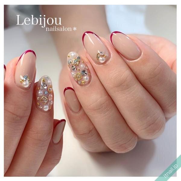 Le bijouが投稿したネイルデザイン [photoid:I0074456] via Itnail Design (648834)