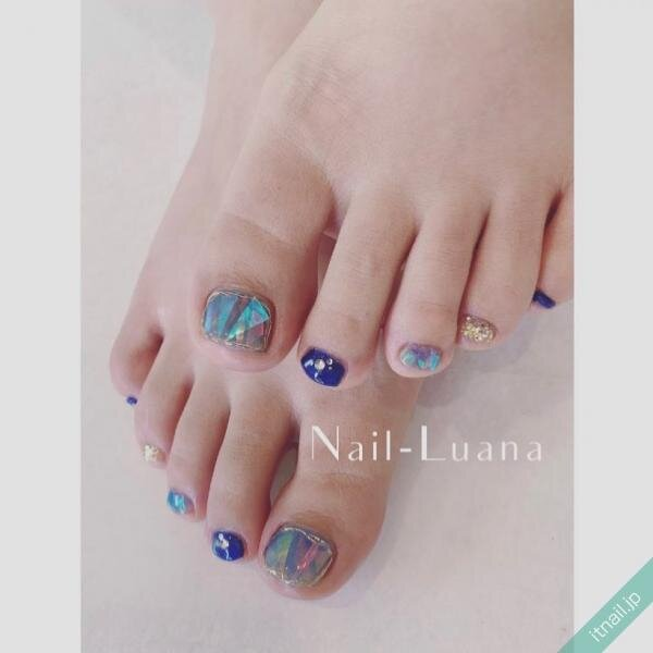 Nail-Luanaが投稿したネイルデザイン [photoid:I0096617] via Itnail Design (648586)