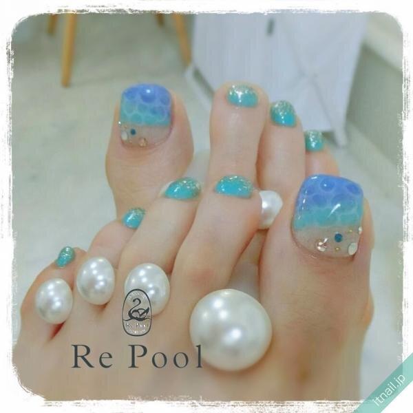Re Poolが投稿したネイルデザイン [photoid:I0071256] via Itnail Design (648622)