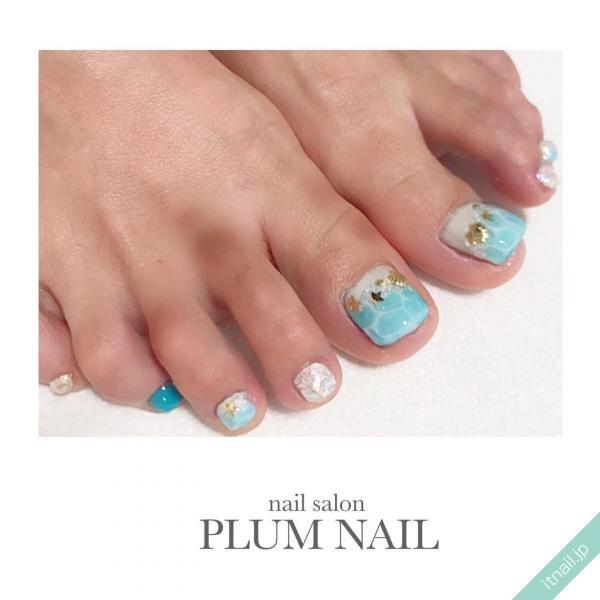 PLUM NAILが投稿したネイルデザイン [photoid:I0086374] via Itnail Design (648620)