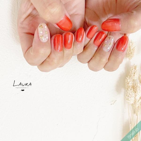 LAURA POMPONNEEが投稿したネイルデザイン [photoid:I0098566] via Itnail Design (649412)