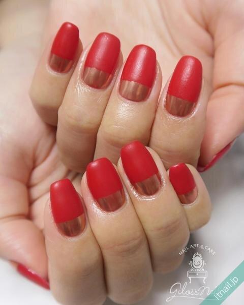 gloss nailが投稿したネイルデザイン [photoid:I0093050] via Itnail Design (649410)