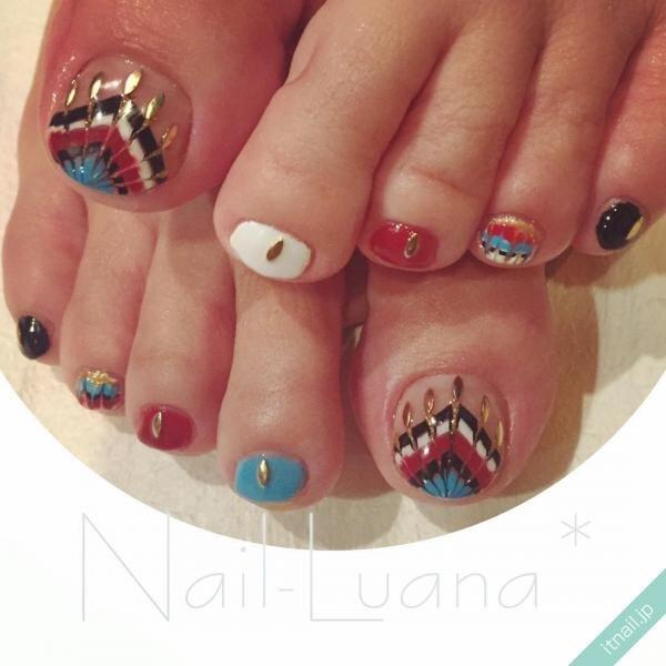 Nail-Luanaが投稿したネイルデザイン [photoid:I0036065] via Itnail Design (649065)