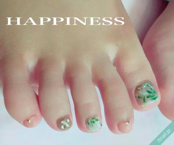 HAPPINESSが投稿したネイルデザイン [photoid:I0039207] via Itnail Design (648585)