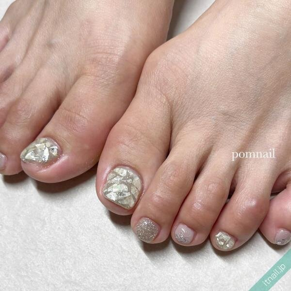 pom nailが投稿したネイルデザイン [photoid:I0098787] via Itnail Design (649241)
