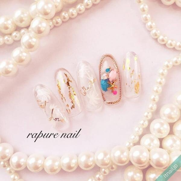 Rapure Nailが投稿したネイルデザイン [photoid:I0049832] via Itnail Design (649531)